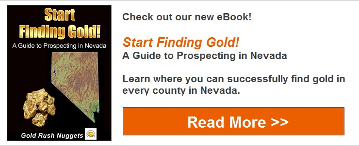 Find Gold in Nevada eBook