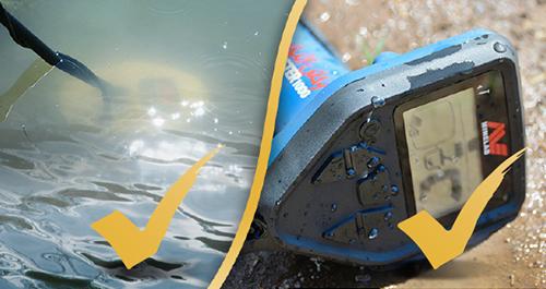 Waterproof Water Resistant Gold Monster 1000