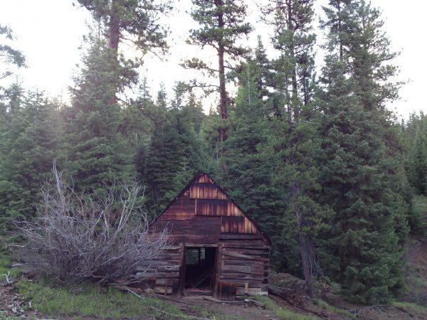 Gold miner shack