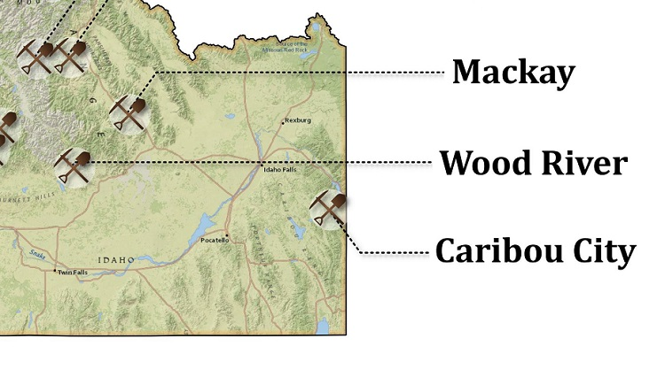 Gold Prospecting Locations in Eastern Idaho