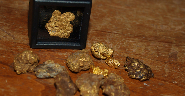 gold nuggets Mohave County