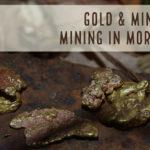 mining gold in Morocco desert
