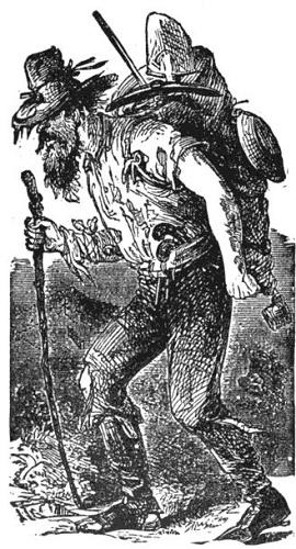 Grubstake gold miner