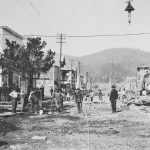 Mining towns in Oregon