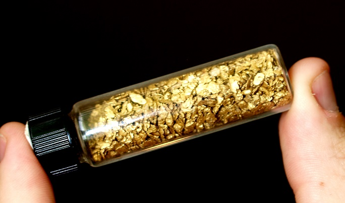 selling placer gold