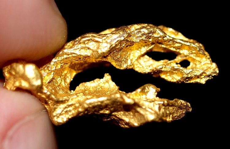 Highly collectable gold specimen
