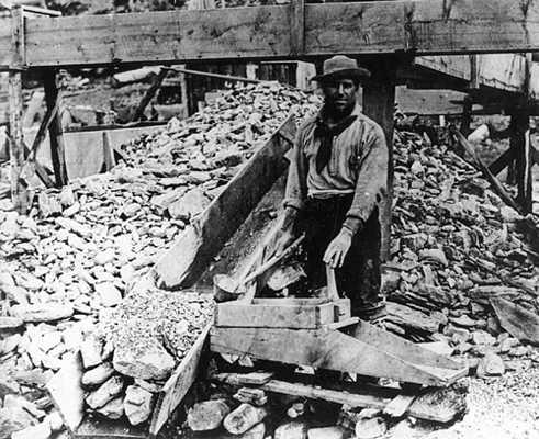 Miner with rocker box