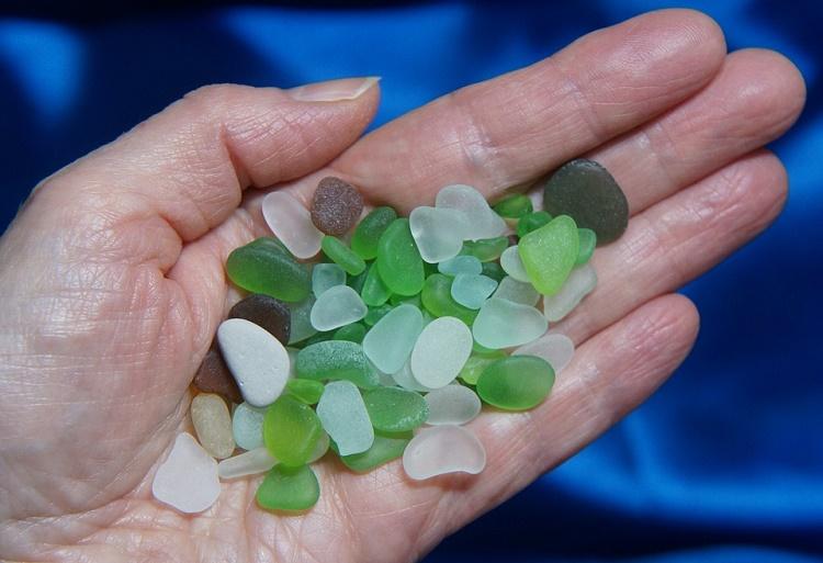 Washington Agates and Sea Glass