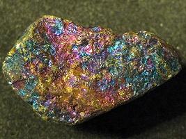 shiny gold rock