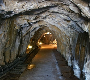 Mine Shaft for Silver Ore