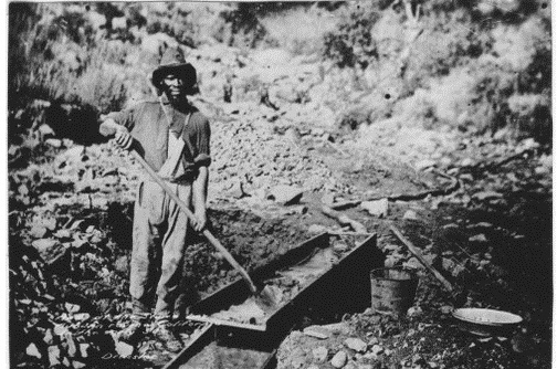 sluice box miner