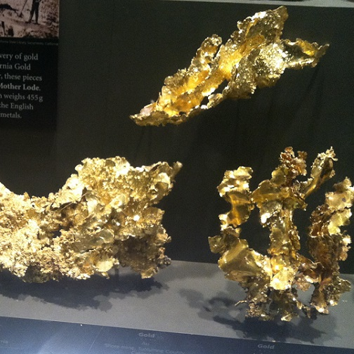 gold crystal collection
