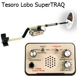 Gold Nugget Detecting with the Tesoro Lobo SuperTRAQ