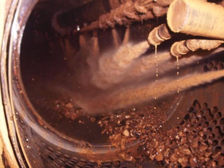 water pressure trommel mining
