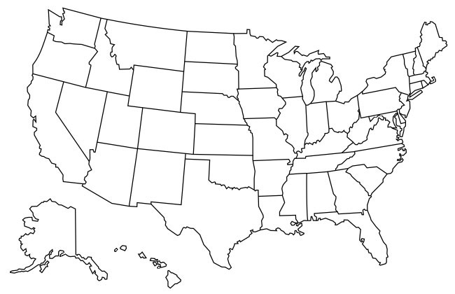 Ghost Towns In Your State Clickable Map Of The US - Us state map