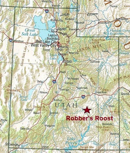 Robbers Roost Treasure